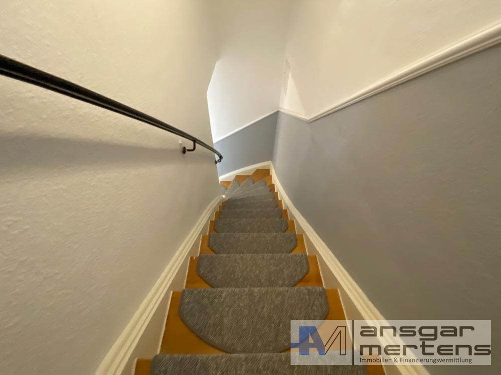 Treppenhaus innerhalb der Wohnung