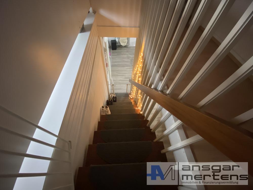 Treppenaufgang Maisonette