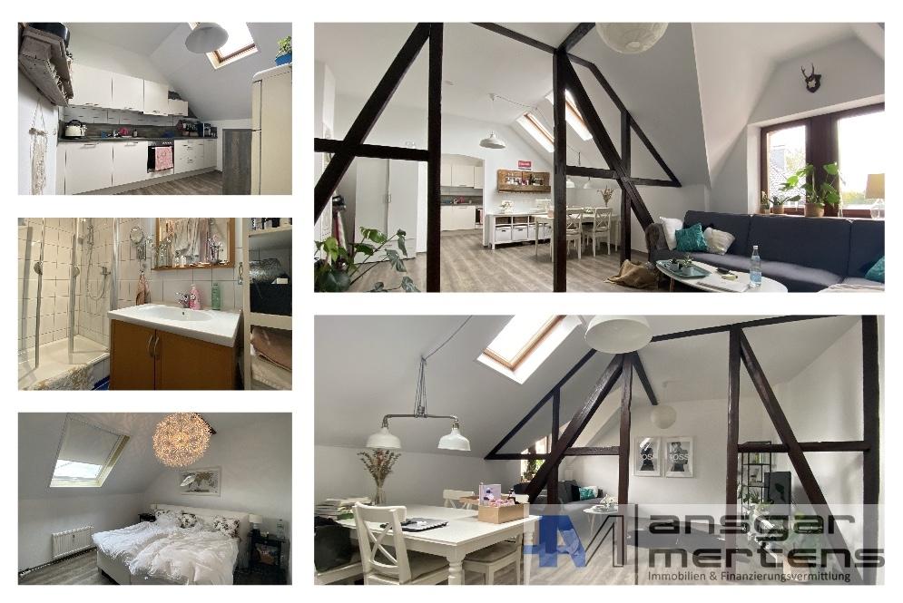 Impressionen Wohnung Nr. 3 - Dachgeschoss