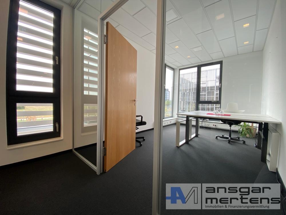 Einblick Einzelbüro