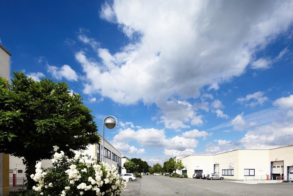 Einblick Businesspark Willicher Damm II