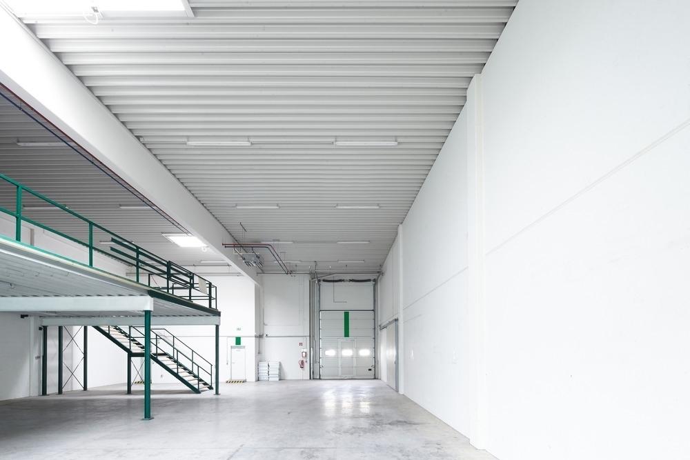 Lager Maisonette Sektionaltor Gebäude C